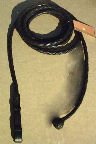 Ludomar 4m traditional professional's leather show/presentation rope
